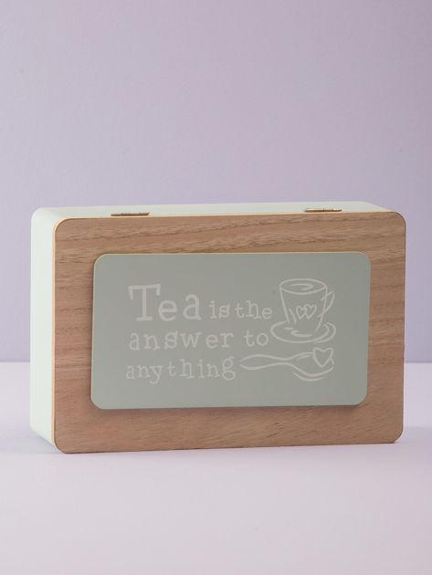 Miętowy pojemnik na herbatę                              zdj.                              4