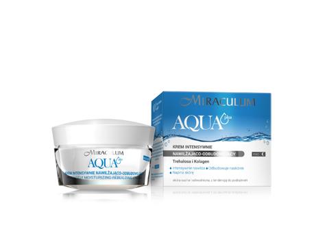"""Miraculum Aqua Plus Krem intensywnie nawilżająco-odbudowujący na noc  50ml"""""""