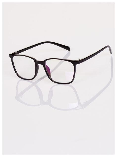 Modne klasyczne okulary zerówki dla kobiet i mężczyzn- soczewki ANTYREFLEKS