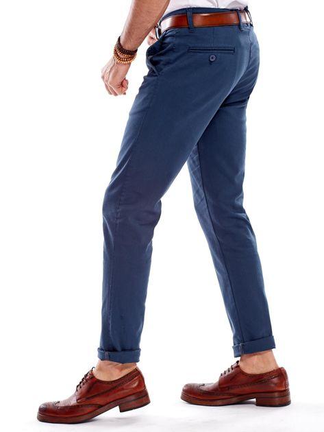 Morskie materiałowe spodnie męskie                              zdj.                              9