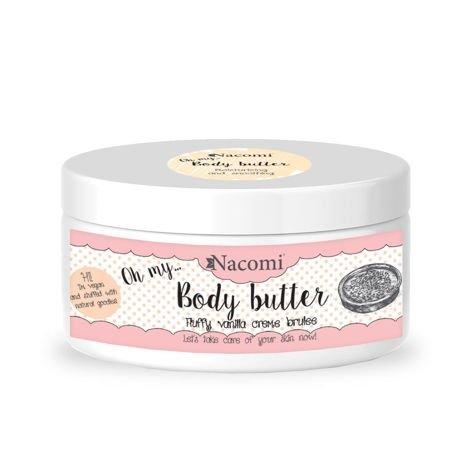 NACOMI Masło do ciała Waniliowe Crème Brulee, 100 ml                              zdj.                              1