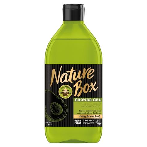 Nature Box Avocado Oil żel pod prysznic pielęgnujący  385ml