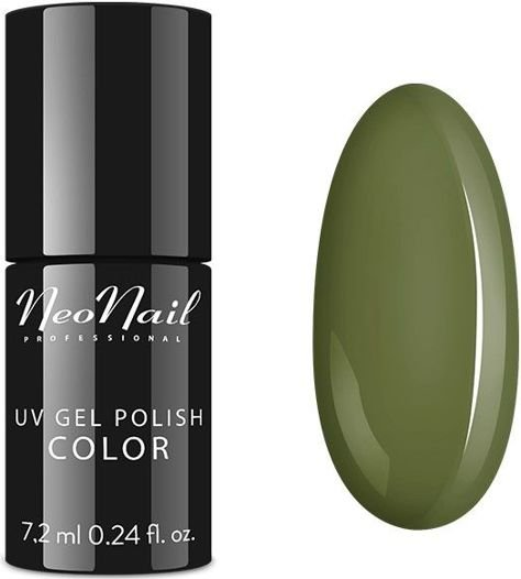 NeoNail Lakier Hybrydowy 6371 - Unripe Olives 7,2 ml                               zdj.                              1