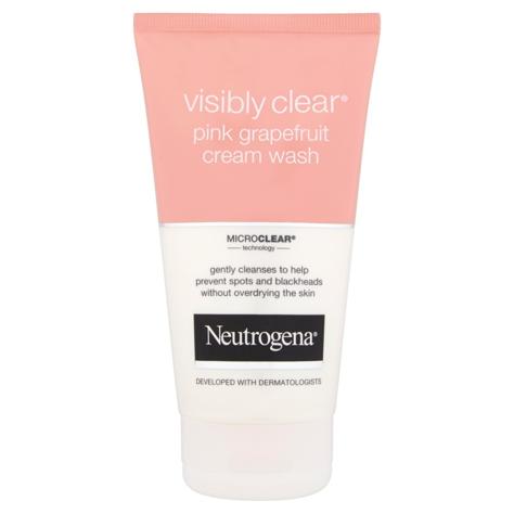 """Neutrogena Visibly Clear Krem -żel do mycia twarzy orzeźwiający  150ml"""""""