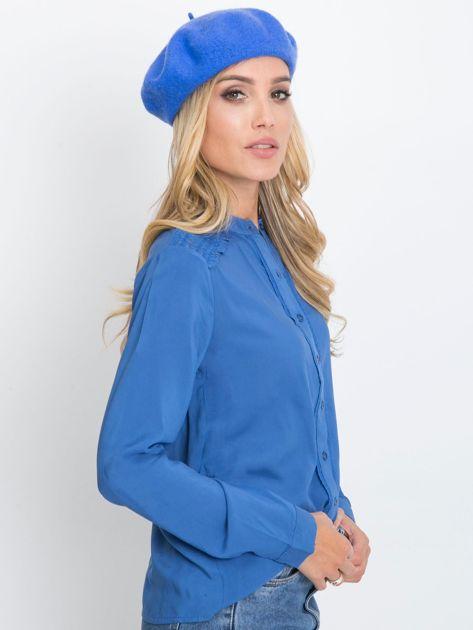 Niebieska bluzka Flow                              zdj.                              3