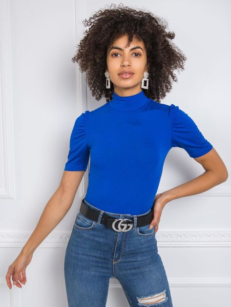 Niebieska bluzka Nadine RUE PARIS