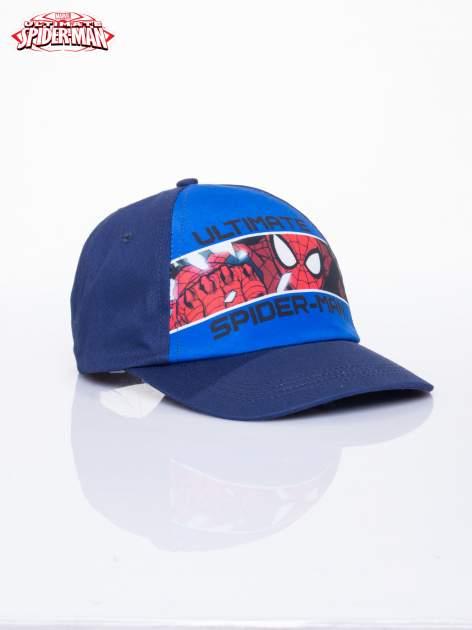 Niebieska chłopięca czapka z daszkiem SPIDERMAN                                  zdj.                                  2