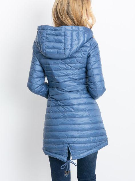 Niebieska dwustronna kurtka Quartz                              zdj.                              2