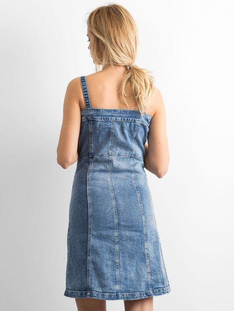 Niebieska jeansowa sukienka Magnificent                              zdj.                              2