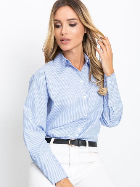 Niebieska koszula Avita                              zdj.                              1