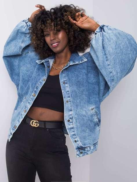 Niebieska kurtka jeansowa Diamond RUE PARIS