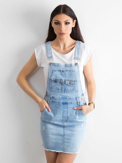 Niebieska spódnica Freshly                              zdj.                              1