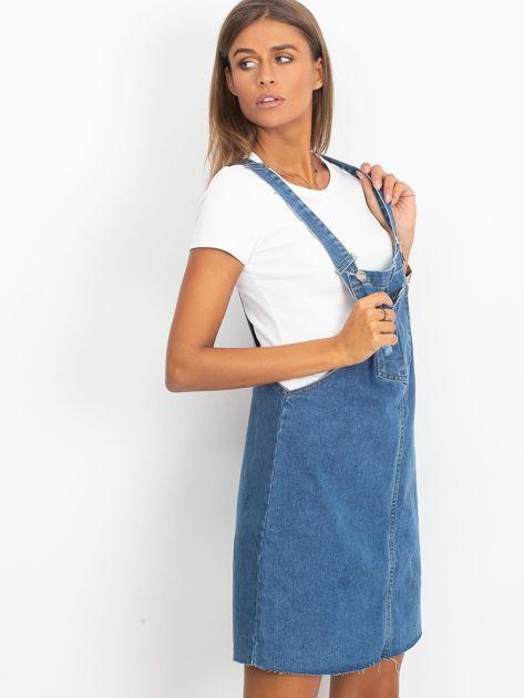 Niebieska spódnica Upper                              zdj.                              3