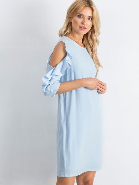 Niebieska sukienka Brilliance                              zdj.                              3