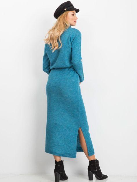 Niebieska sukienka Peace                              zdj.                              2