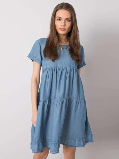 Niebieska sukienka Tessie STITCH & SOUL