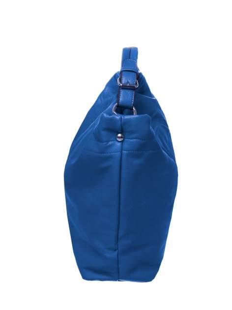 Niebieska torba hobo na ramię                                  zdj.                                  2