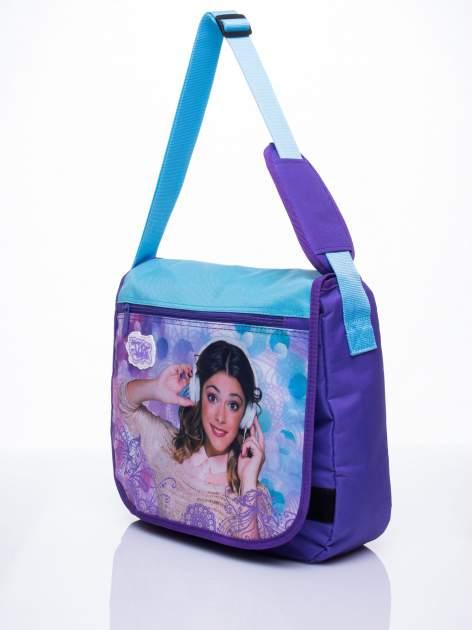 Niebieska torba szkolna DISNEY Violetta                                  zdj.                                  2