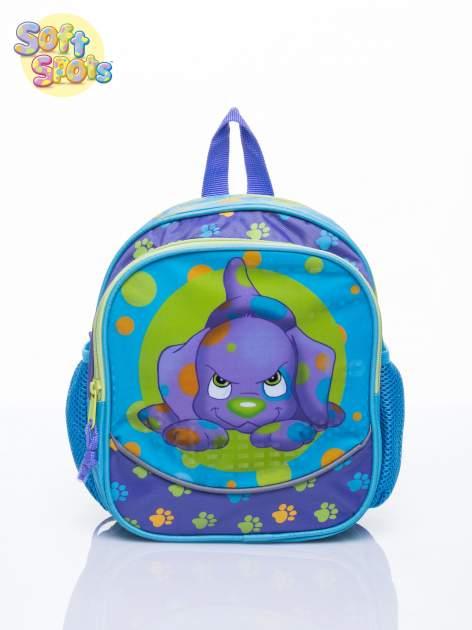 Niebieski plecak na wycieczkę DISNEY Soft Spots                                  zdj.                                  1
