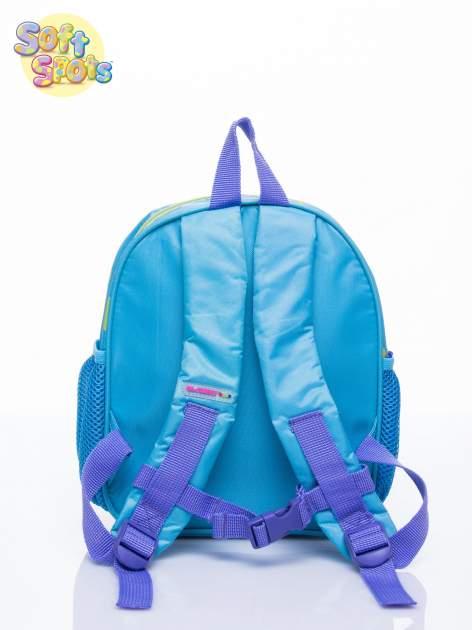 Niebieski plecak na wycieczkę DISNEY Soft Spots                                  zdj.                                  3