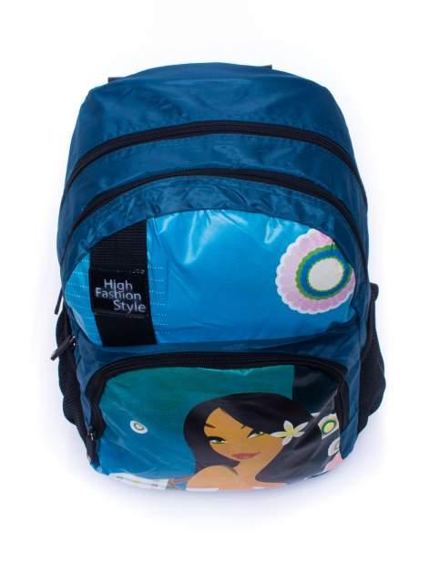 Niebieski plecak szkolny DISNEY Mulan                                  zdj.                                  5