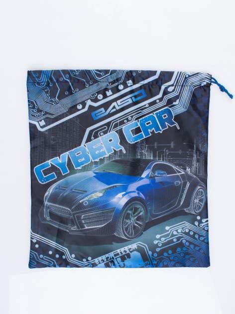 Niebieski plecak worek DISNEY Auta                                  zdj.                                  3