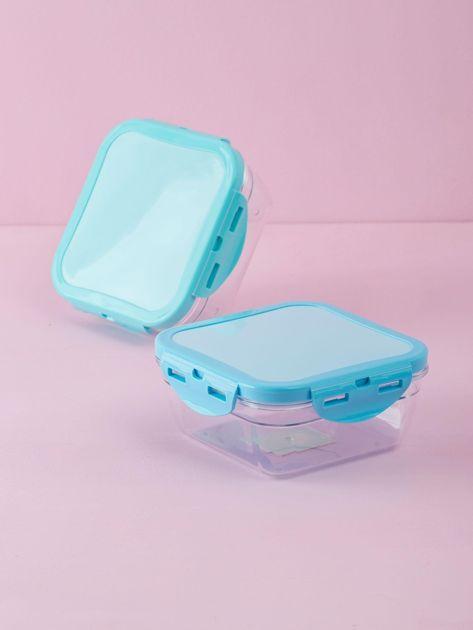 Niebieski pojemnik na żywność