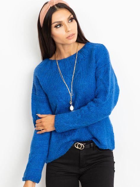 Niebieski sweter Tiffany                              zdj.                              3