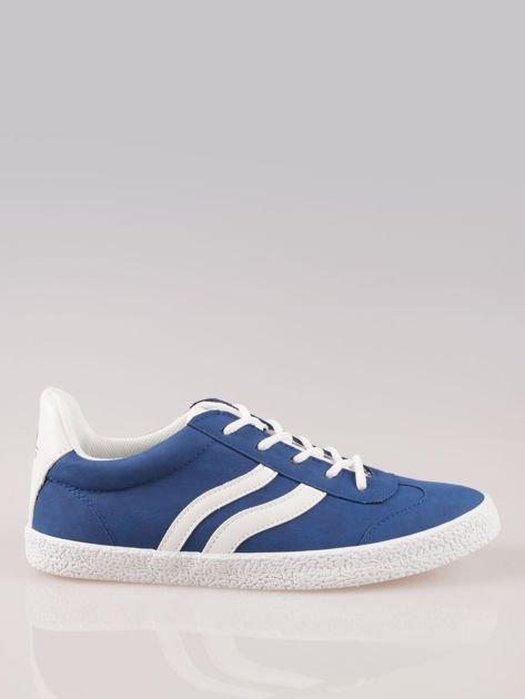 Niebieskie buty sportowe w stylu casual Kash                                  zdj.                                  1