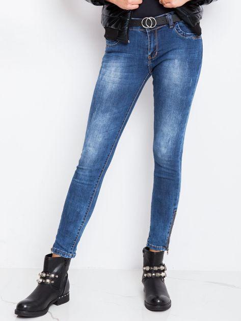 Niebieskie jeansy Bottom                              zdj.                              5