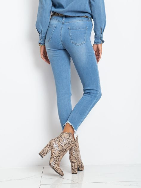 Niebieskie jeansy Carlita                              zdj.                              2