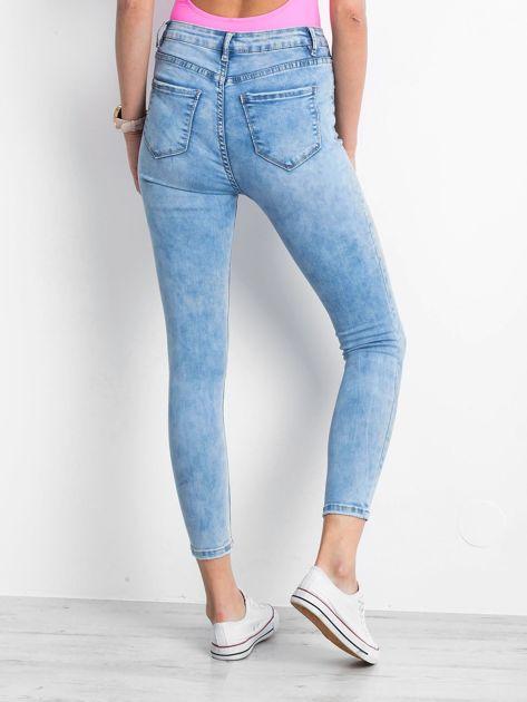 Niebieskie jeansy Complements                              zdj.                              2