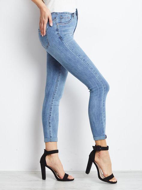 Niebieskie jeansy Crushin                              zdj.                              3