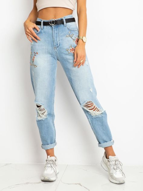 Niebieskie jeansy Melody                              zdj.                              1