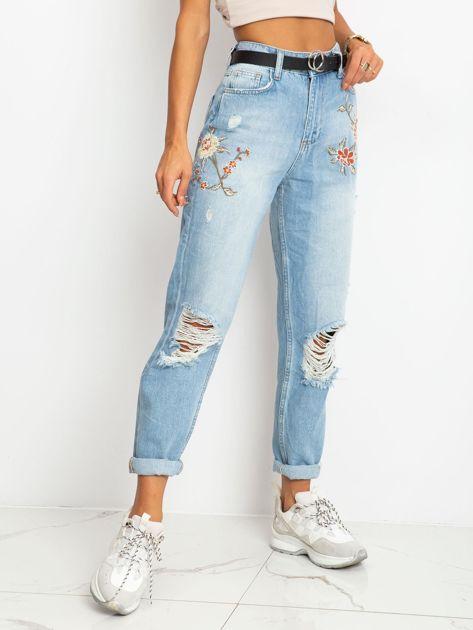 Niebieskie jeansy Melody                              zdj.                              3