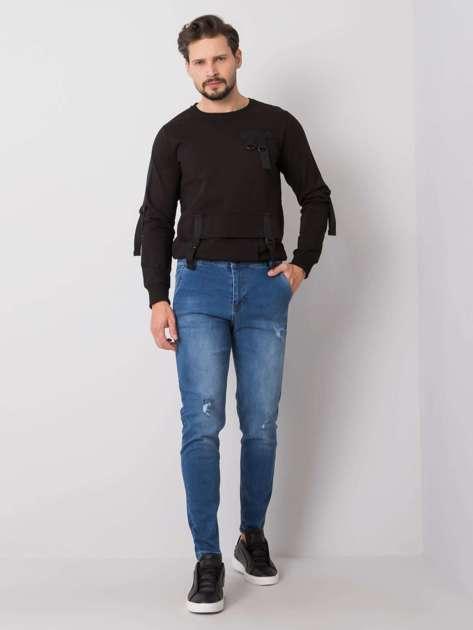 Niebieskie jeansy męskie Easton LIWALI