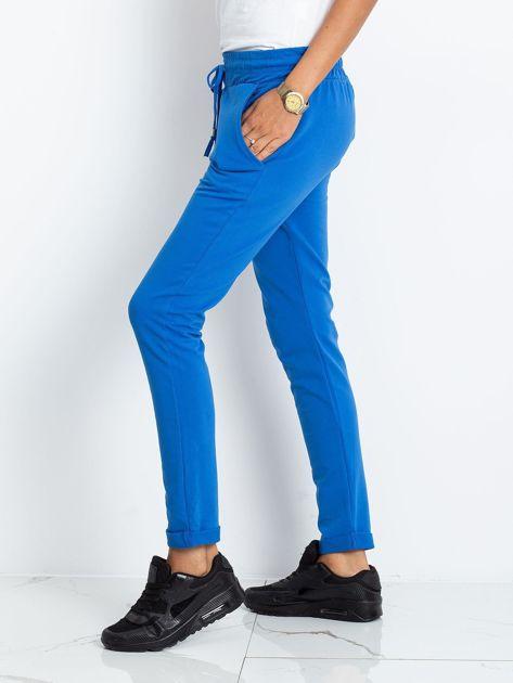 Niebieskie spodnie Cadence                              zdj.                              3