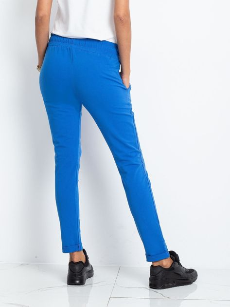 Niebieskie spodnie Cadence                              zdj.                              2