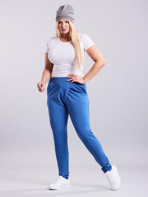 Niebieskie spodnie Enter                              zdj.                              4