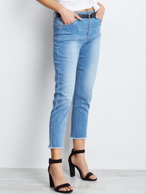 Niebieskie spodnie jeansowe Outlander                              zdj.                              3