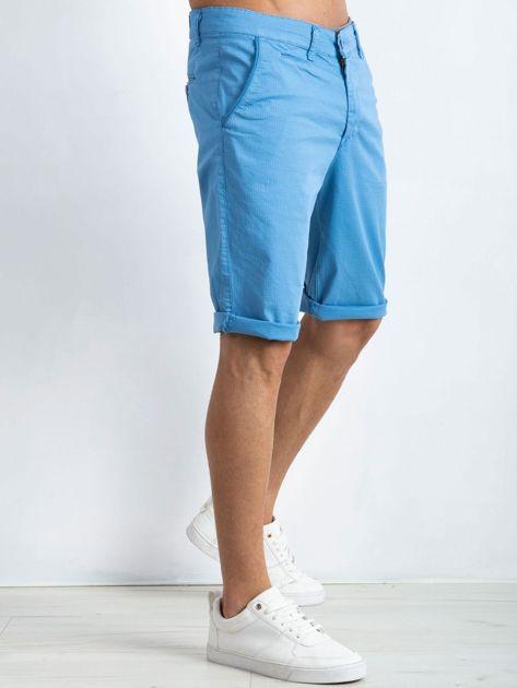 Niebieskie szorty męskie Breathe                              zdj.                              3