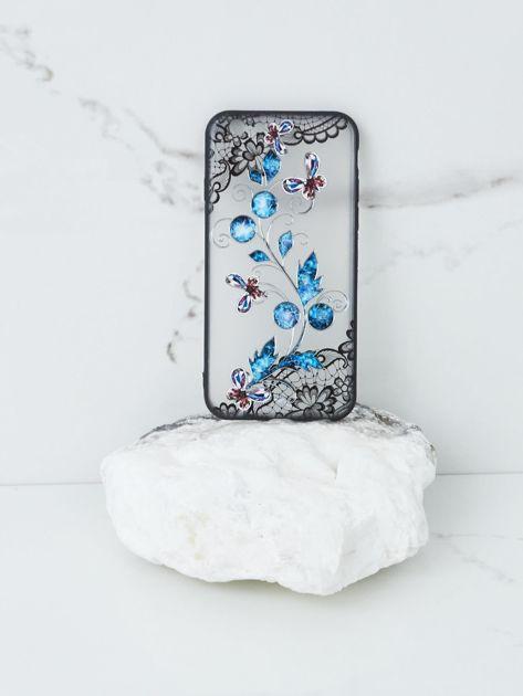 Niebiesko-czarne etui do iPhone 7G/8G                              zdj.                              1