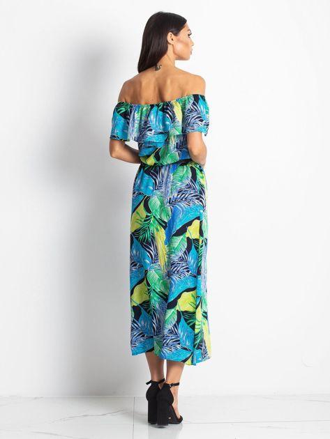 Niebiesko-zielona sukienka Caraibbean                              zdj.                              2