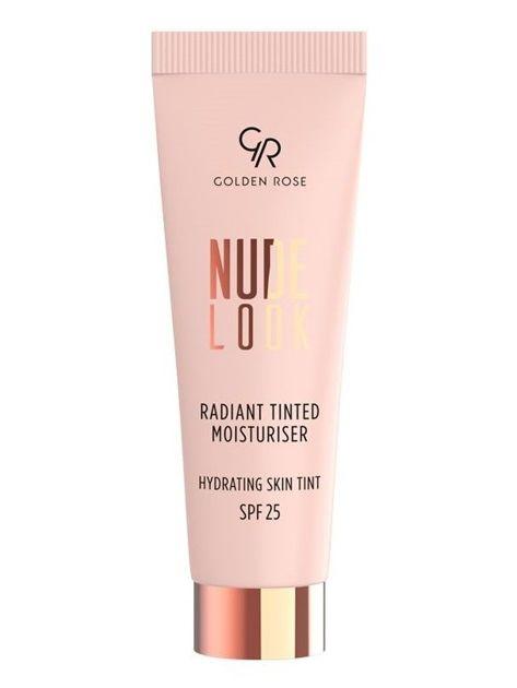 Nowość! GOLDEN ROSE Nude Look Koloryzujący krem z efektem rozświetlenia nr 01 Fair Tint  32 ml                              zdj.                              1