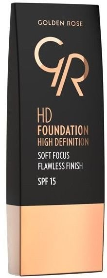 Nowość! GOLDEN ROSE Podkład HD soft focus 109 30 ml
