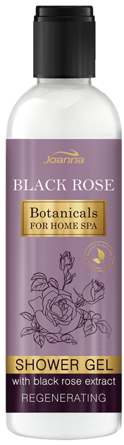 Nowość! JOANNA BOTANICALS FOR HOME SPA Żel pod prysznic Czarna róża 250 ml
