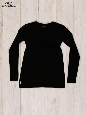 O'NEILL Czarny sweter dla dziewczynki z nadrukiem