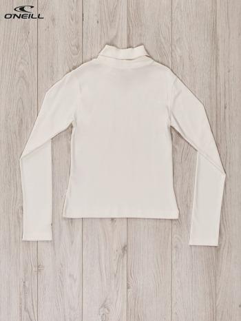 O'NEILL Ecru bluzka dla dziewczynki z golfem i dżetami                              zdj.                              2