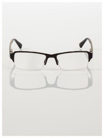 Okulary korekcyjne +1.0 D do czytania z systemem FLEX na zausznikach +GRATIS PLASTIKOWE ETUI I ŚCIERECZKA Z MIKROFIBRY                                  zdj.                                  4