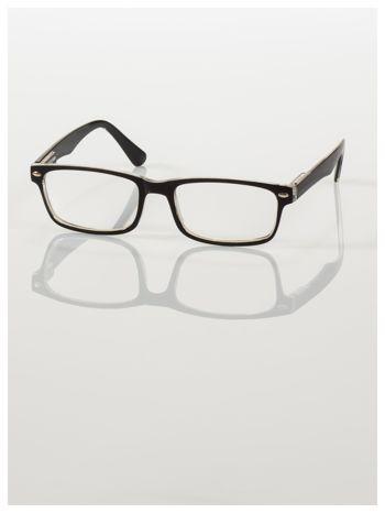 Okulary korekcyjne +1.0 D ,model WAYFARER do czytania z systemem FLEX na zausznikach +GRATIS PLASTIKOWE ETUI I ŚCIERECZKA Z MIKROFIBRY                                  zdj.                                  2